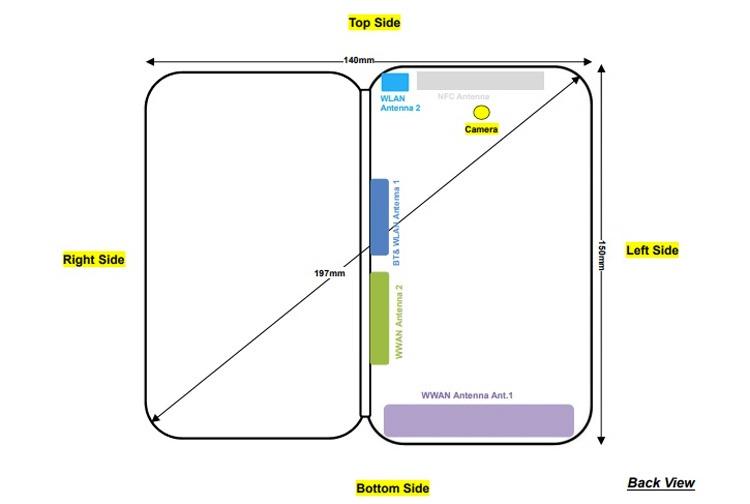 Diseño del ZTE Axon M
