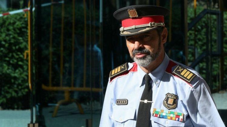 El jefe de los Mossos d'Esquadra tras declarar en la Audiencia Nacional por el delito de sedición (Reuters)