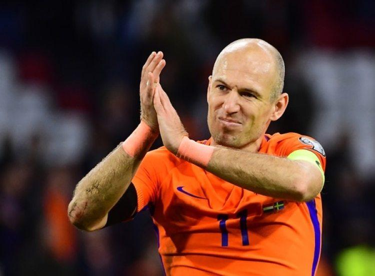 Arjen Robben, líder en Holanda y en el Bayern Munich (AFP)