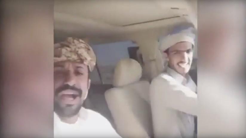 VIDEO: Se matan en un aparatoso accidente vial en Arabia Saudita y lo transmiten por Snapchat
