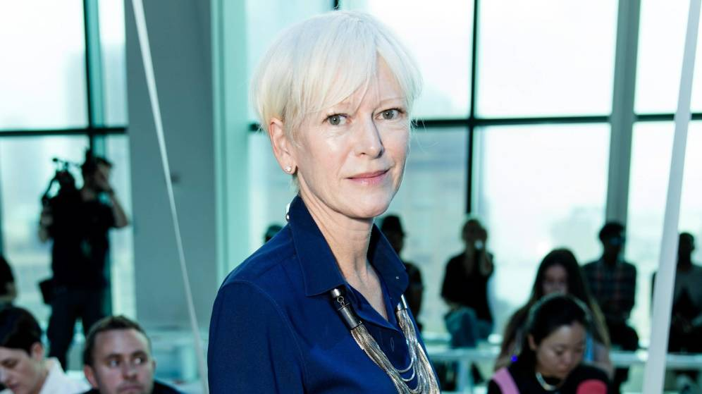 Foto: Joanna Coles en la New York Fashion Week. (Cordon Press)
