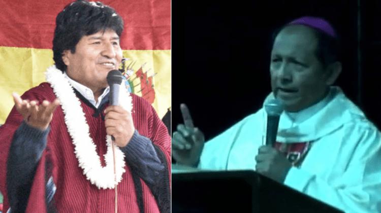 Evo-Morales-y-el-monseñor-Centellas