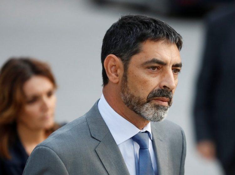 El jefe de los Mossos d'Esquadra Josep Lluis Trapero (Reuters)