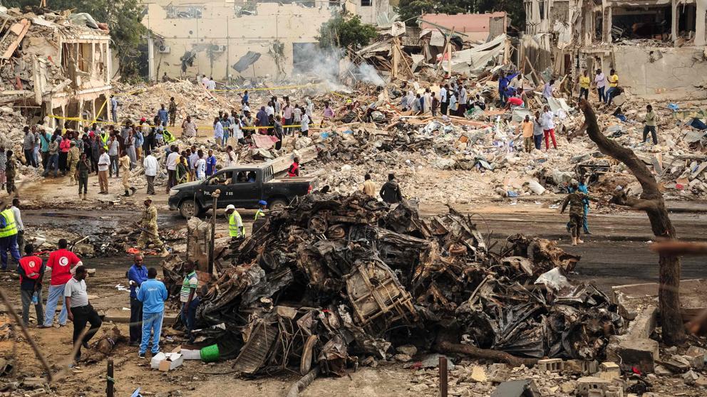 Somalia sufre el peor atentado de su historia, con 276 muertos y 300 heridos