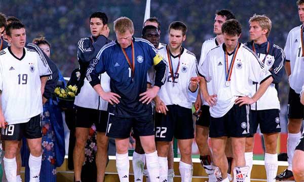 Resultado de imagen para alemania subcampeón del mundo 2002