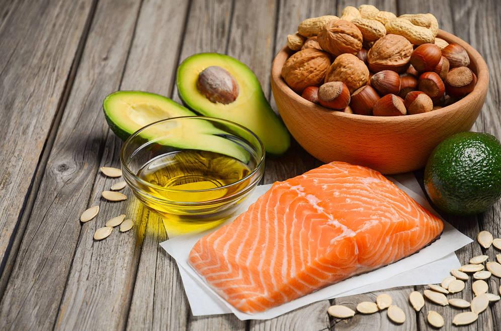 Foto: Una dieta a base de grasas saludables como estas. (iStock)