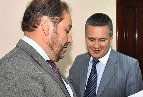 Zuleta y León, durante una audiencia en 2016.
