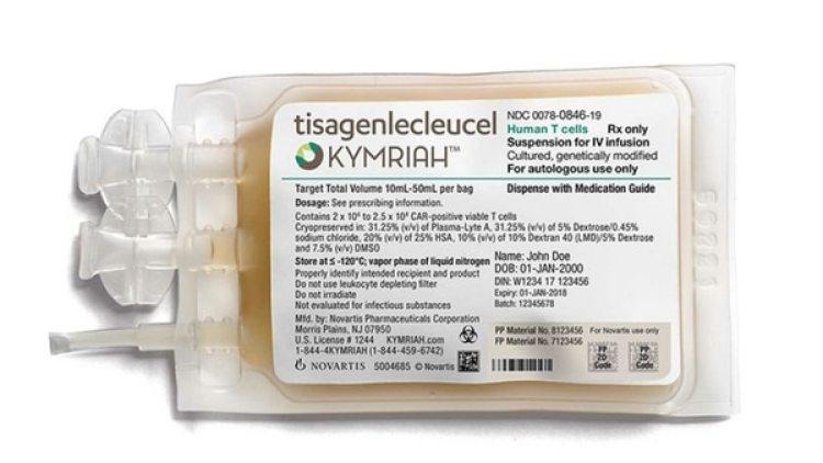 Kymriah, para niños y adultos menores de 25 años que han resistido a otras terapias contra un tipo de leucemia que afecta los linfocitos T, tiene un precio de venta de USD 475.000.