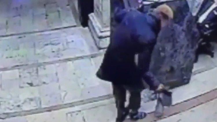 El ladrón terminó con la pierna y varios dientes rotos