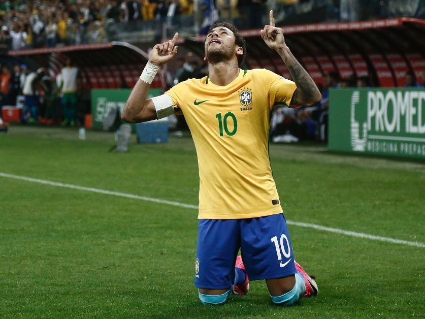 El nuevo tatuaje de Neymar