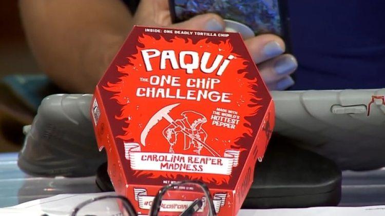 """""""Paqui Chip"""", el snack del desafío"""