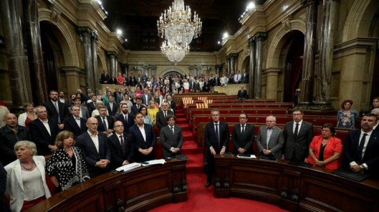 El Parlamento de Cataluña (Reuters)