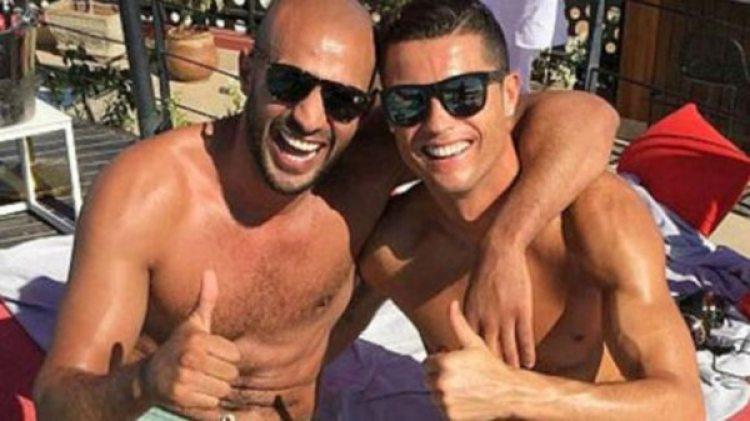 Ronaldo y Badr Hari son grandes amigos