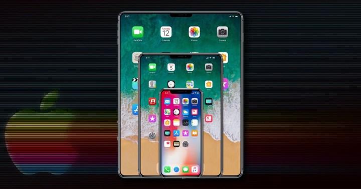 iPad con pantalla sin marcos