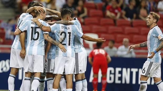 Resultado de imagen para seleccion argentina festejo