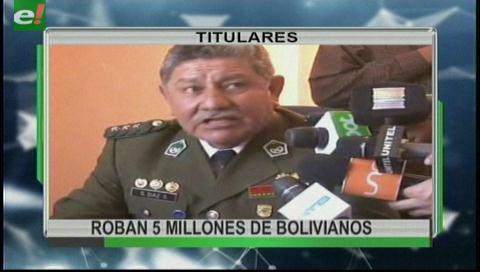 Video titulares de noticias de TV – Bolivia, noche del martes 3 de octubre de 2017