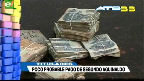 Video titulares de noticias de TV – Bolivia, mediodía del martes 17 de octubre de 2017