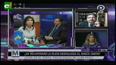 Gonzalo Chávez sugiere una investigación profunda para determinar el daño al Banco Unión