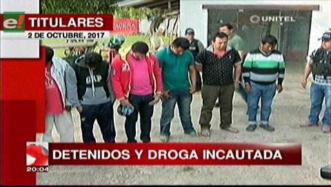 Video titulares de noticias de TV – Bolivia, noche del lunes 2 de octubre de 2017
