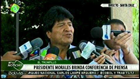 Presidente advierte que el Gobierno no protegerá la corrupción