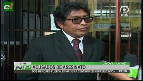 El Alto: Dan detención preventiva a los dos menores acusados de doble asesinato