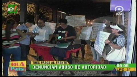 Denuncian abuso de autoridad contra un local de la Tres Pasos al Frente