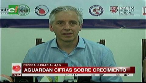 García Linera dice que la economía del país mejorará el próximo año