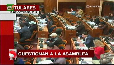 Video titulares de noticias de TV – Bolivia, mediodía del lunes 16 de octubre de 2017