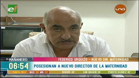 Federico Urquizo es designado director de la Maternidad Percy Boland