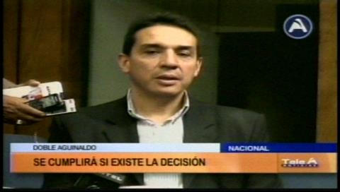 Ministro Guillén pide esperar datos del INE para hablar del doble aguinaldo