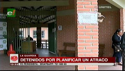La Guardia: Detienen a sujetos acusados de planificar un robo a una vivienda