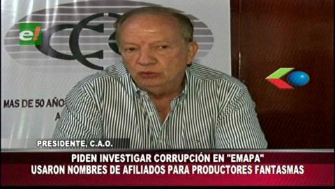 CAO analiza iniciar acciones penales contra Emapa