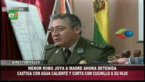 Sucre: Madre que atacó con cuchillo a su hijo de 11 años está en prisión