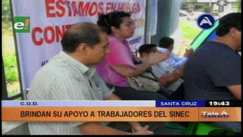 COD respalda denuncias de los trabajadores del Sinec
