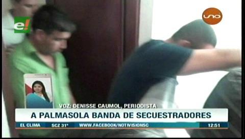 Envían a Palmasola a detenidos por el caso secuestro de Gabriel Silva