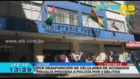 La Fiscalía procesará a un sargento por pérdida de 8 celulares del caso Banco Unión