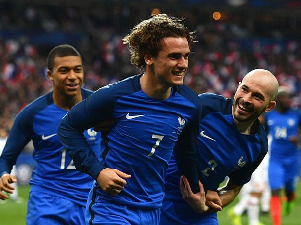 Francia concretó su clasificación al Mundial