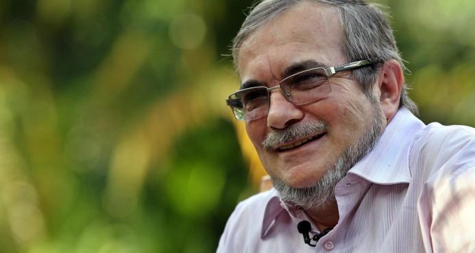 """El jefe máximo de las Fuerzas Armadas Revolucionarias de Colombia (FARC), Rodrigo Londoño Echeverri, alias """"Timochenko"""" en foto de archivo del 12 de marzo de 2016, en La Habana."""