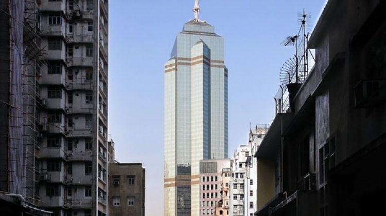 La torre The Center, en Hong Kong