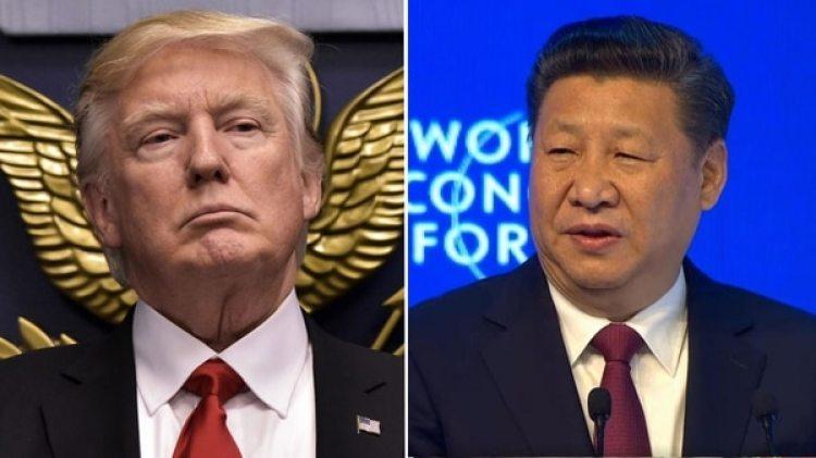 El presidente estadounidense, Donald Trump, y su par chino, Xi Jinping