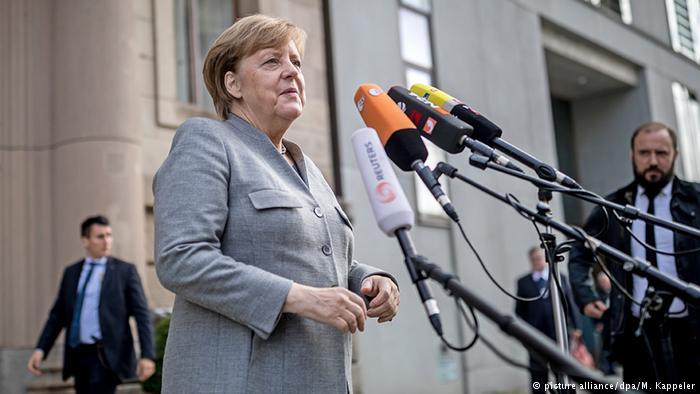 Fortsetzung der Sondierungsverhandlungen (picture alliance/dpa/M. Kappeler)
