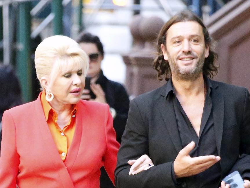 Ivana Trump y Rossano Rubicondi