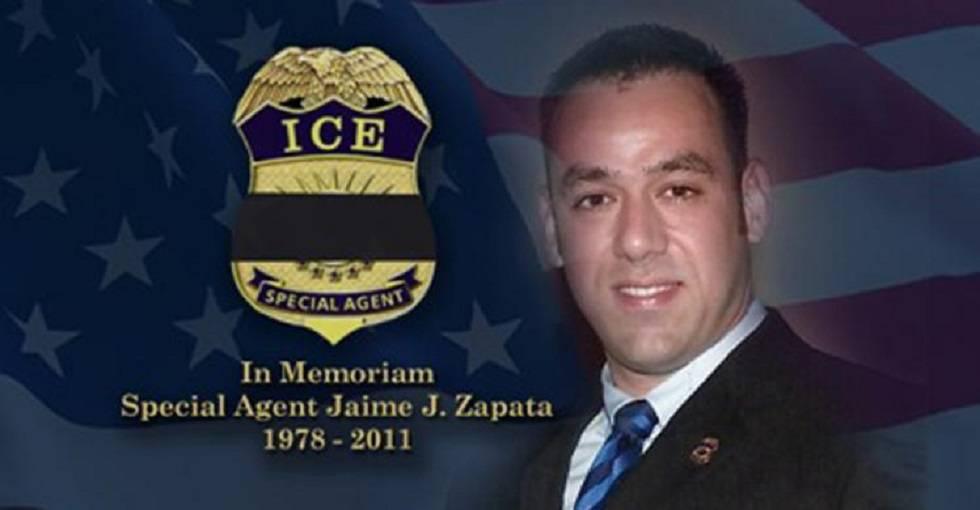 El agente estadounidense asesinado, Jaime Zapata.