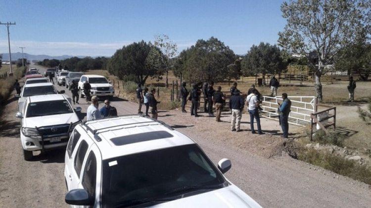 El rancho enCuauhtémoc (AFP)