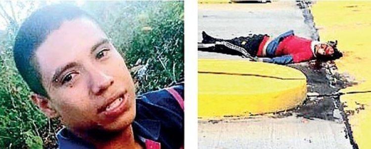 Wilmar Ortiz murió poco después de haber sido arrollado