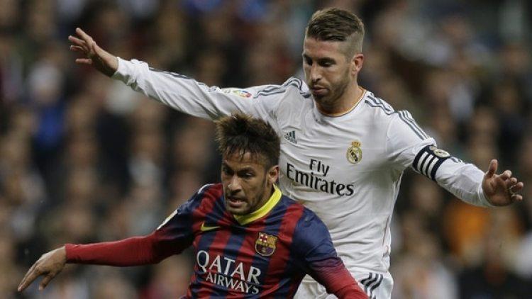 """""""Ya tengo la puerta abierta por si quiere venir"""", señaló Ramos sobre Neymar (AP)"""