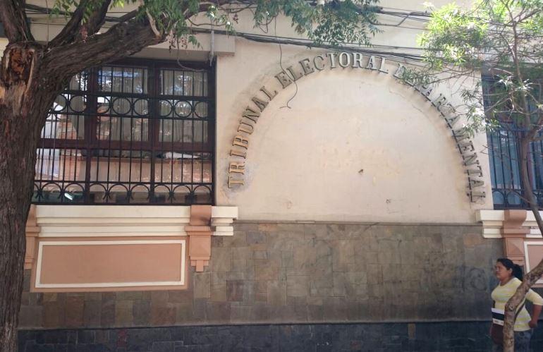 Resultado de imagen para vocales del Tribunal Electoral Departamental de Tarija
