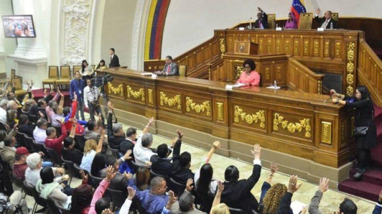 La ley fue aprobada por la Asamblea Constituyente chavista