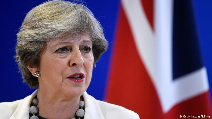 Theresa May (Getty Images/J.Thys)