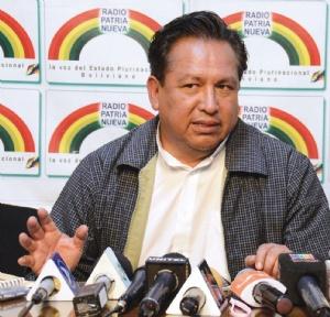 El Gobierno rechaza el debate que pide Adepcoca a Morales